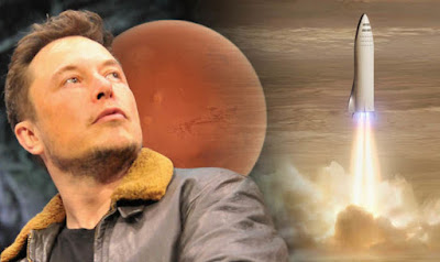 Elon Musk Mars Big Falcon Rocket