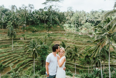 Honeymoon Photo Session in Tegalalang Rice Terrace