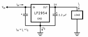 Basic 5V Regulator Circuit Diagram