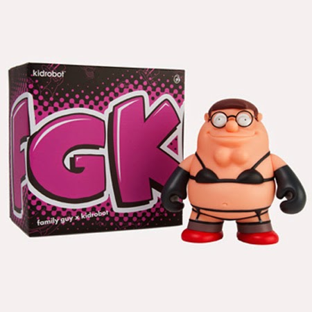 """Intimate Apparel"" Peter Griffin Family Guy 7"" Vinyl Figure by Kidrobot"