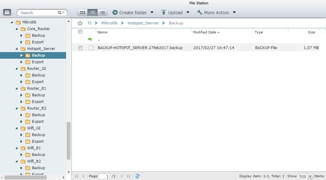 AutoBackup Mikrotik : Kirim File Backup ke FTP Server Otomatis – Pusat Pengetahuan