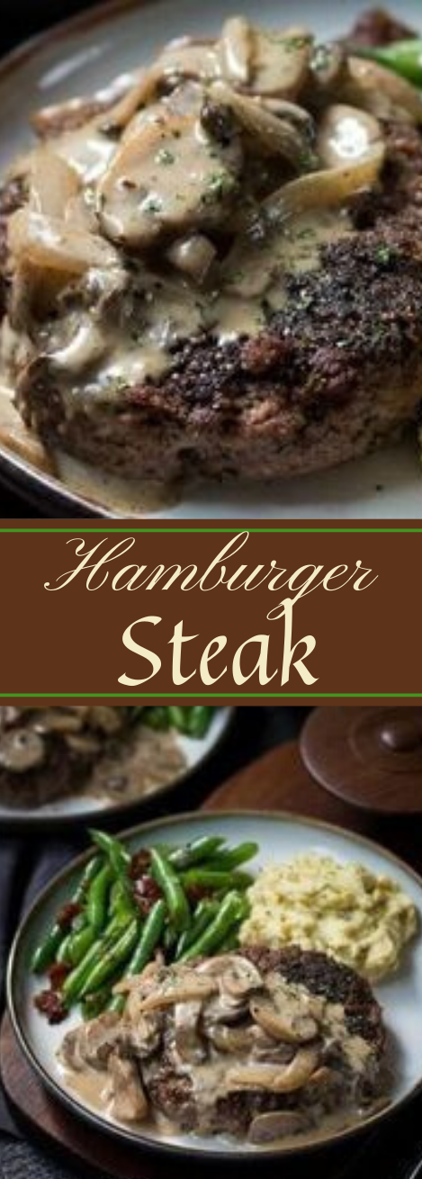 HAMBURGER STEAK AND GRAVY RECIPE #healthydiet #dinner #food #keto #recipes