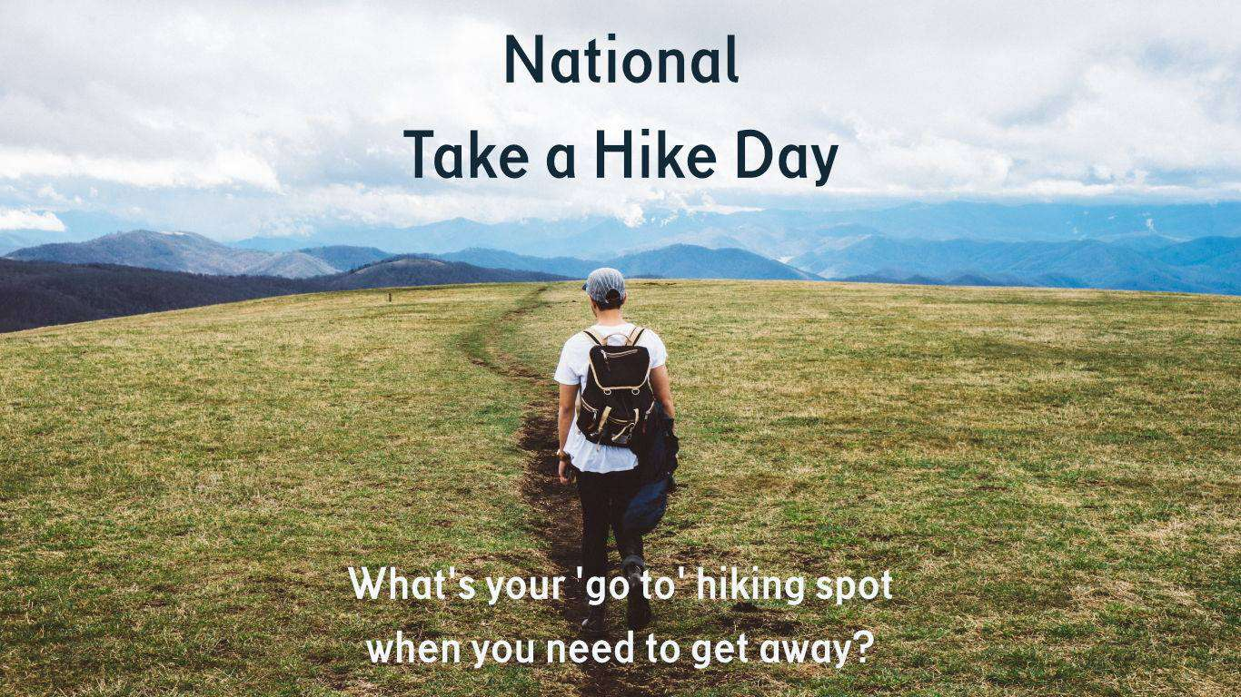 National Take a Hike Day Wishes for Instagram