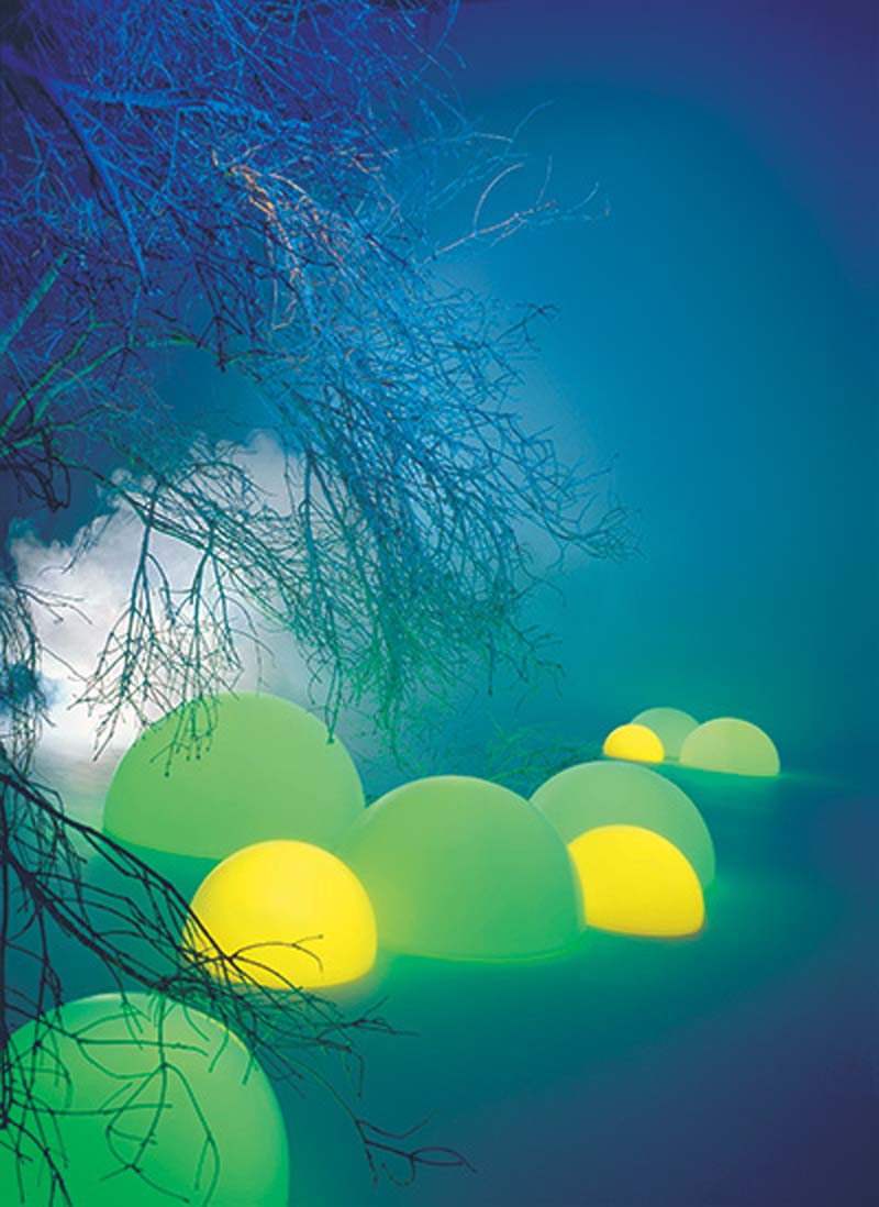 Livinsponge: Modern outdoor lighting