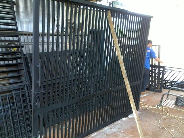 harga pintu pagar minimalis murah berkualitas