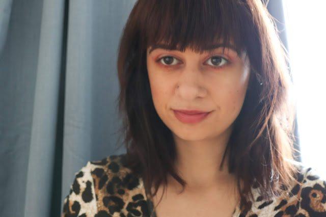 Laura's final makeup look