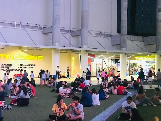 Ayala Malls Circuit rooftop