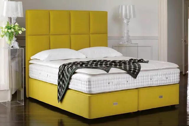 """Dünyanın en rahat yatağını ürettiklerini iddia eden Hypnos'un sloganı, """"Sahip olabileceğiniz en konforlu yatak""""tır."""