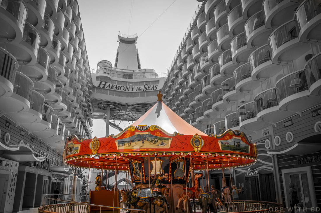 Carousel, Boardwalk, Harmony of the Seas