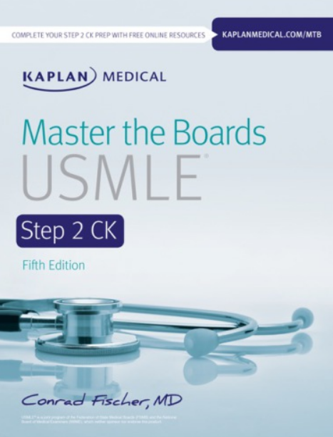 Master the Boards USMLE Step 2 CK 2019 5th Edition pdf Free