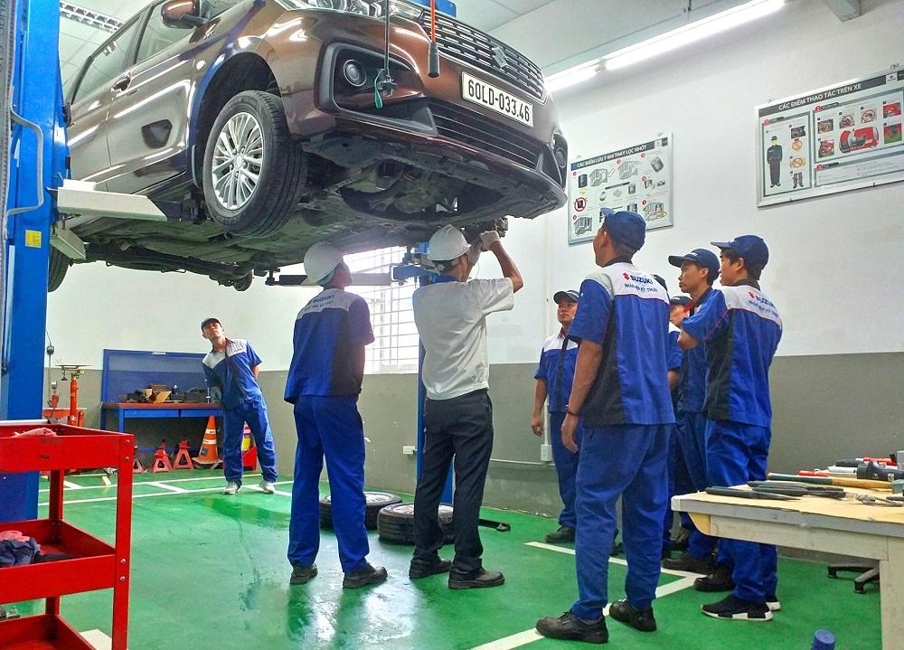 Suzuki triển khai chiến dịch kiểm tra miễn phí xe cho khách hàng