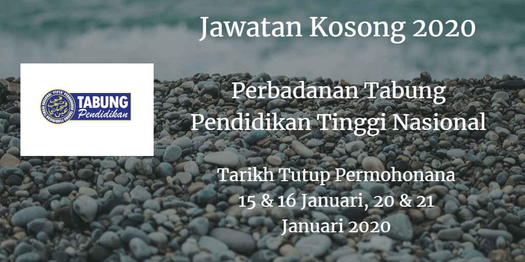 Jawatan Kosong PTPTPN 15 & 16 Januari, 20 & 21 Januari 2020
