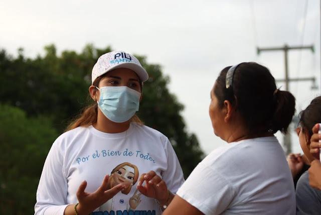 Pili Santos llama a votar por un equipo dispuesto a trabajar con la sociedad