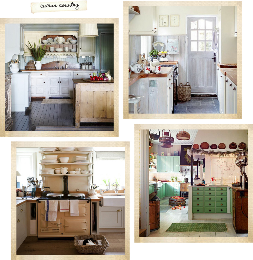 La cucina il regno della casa shabby chic interiors - Colori pareti cucina shabby chic ...