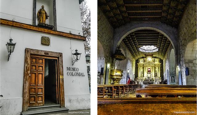 Igreja e Museu de São Francisco, Santiago do Chile