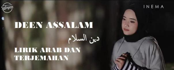 Lirik Lagu Deen Assalam Nissa Sabyan