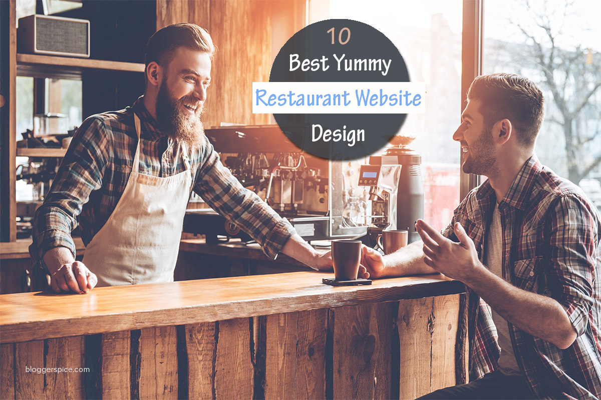 10 Best Yummy Restaurant Website Design Inspirations
