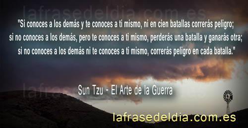 El Arte de la Guerra en citas célebres de Sun Tzu