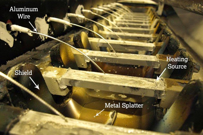 Metallizing in the Vacuum Chamber