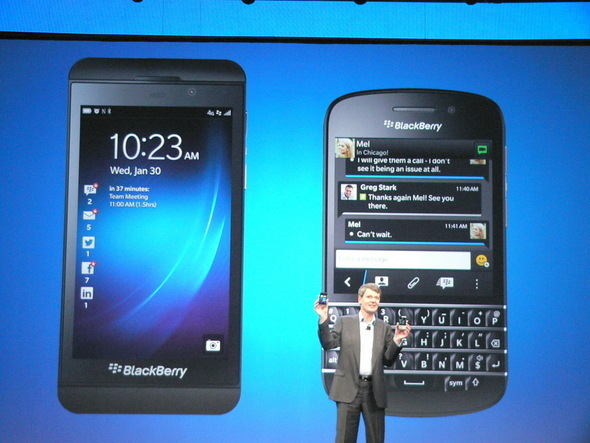 Leaking Tel: Blackberry Porsche BlackBerry 10 system is coming