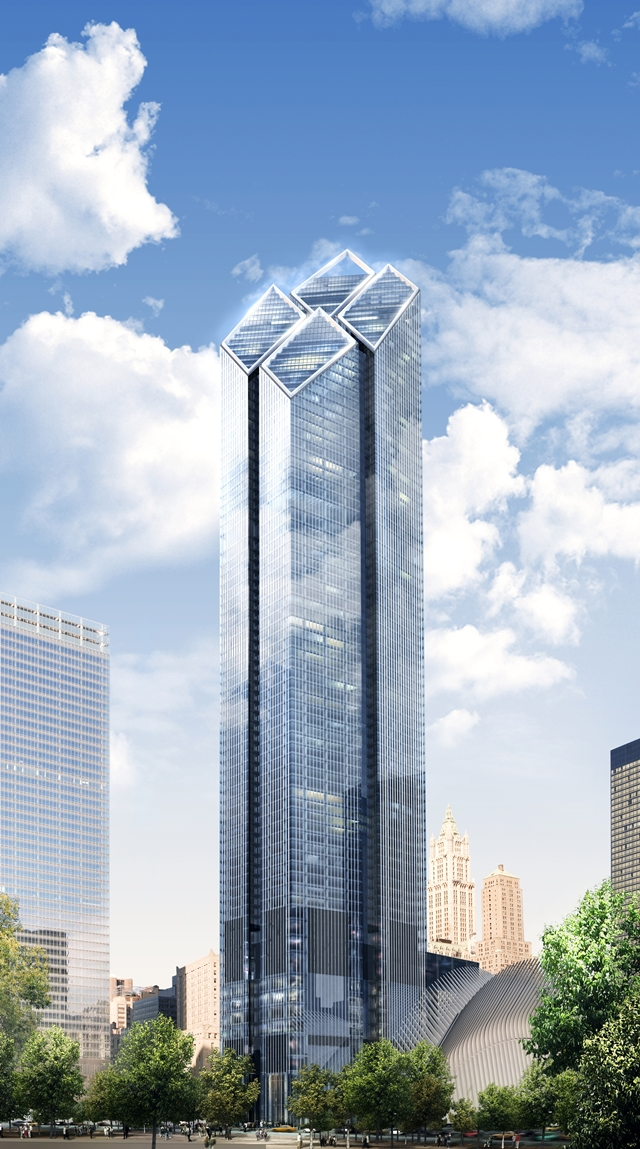 Architecture Corner 2 World Trade Center By Foster And