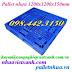 Pallet nhựa 1200x1200x150mm PL16LK