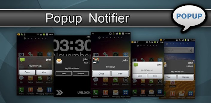 Popup Notifier Plus V4.0:: لتنبيهك ب الاشعارات ::مباشر