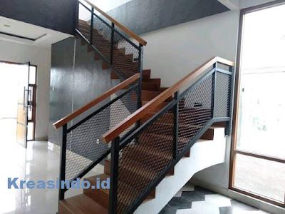 railing balkon besi