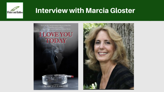 Interview with Marcia Gloster @marciagloster #AuthorInterview