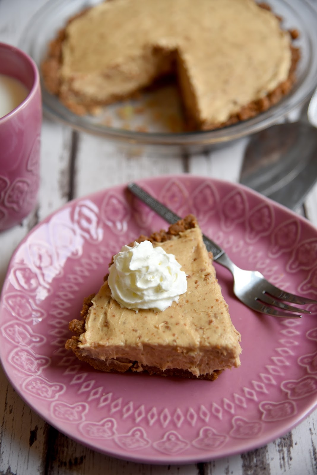 Biscoff pie recipe