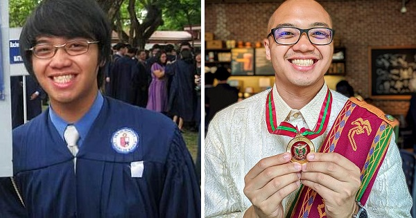 Student completes 2 degrees from 2 universities, both with honors