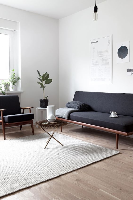 Minimalist Decoration for A Simple Living Room