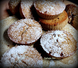 Chocolate & Lemon flavored muffins
