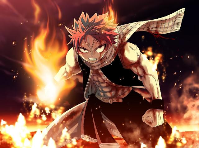 Fairy Tail Karakter - Kumpulan Foto Natsu Dragneel dan Fakta tentang Natsu Dragneel