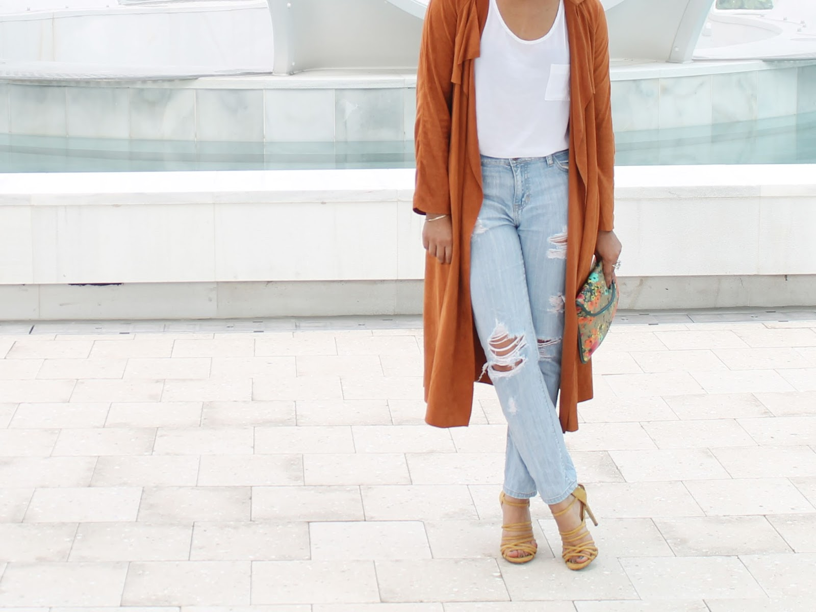 Brown-Suede-Self-Tie-Duster-Coat