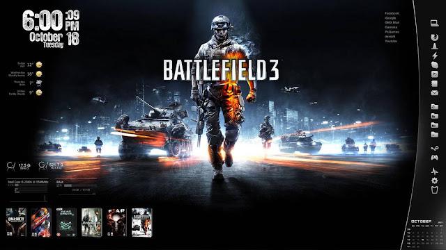Battlefield 3 Skin Download