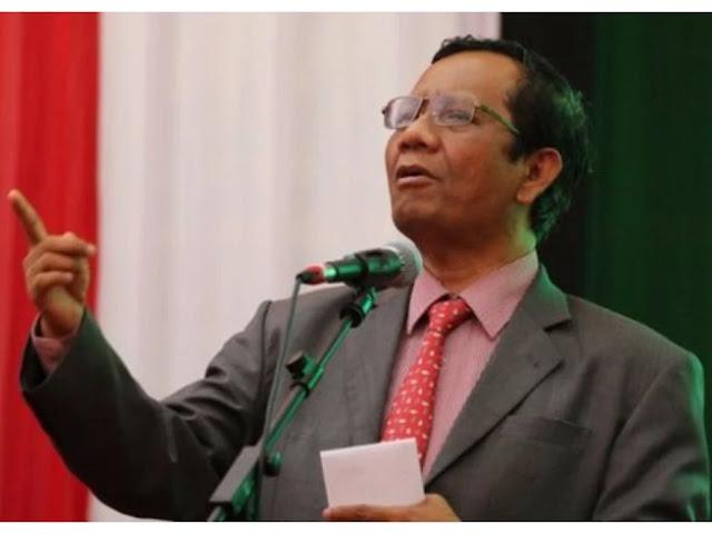 Mahfud Sebut Habib Rizieq Dicekal karena Himpun Dana Ilegal