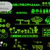 مجموعة بلوكات اشجار استوائية اوتوكاد dwg