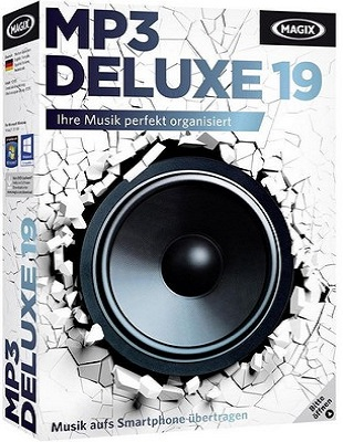 MAGIX MP3 deluxe 19.0.1.48 poster box cover