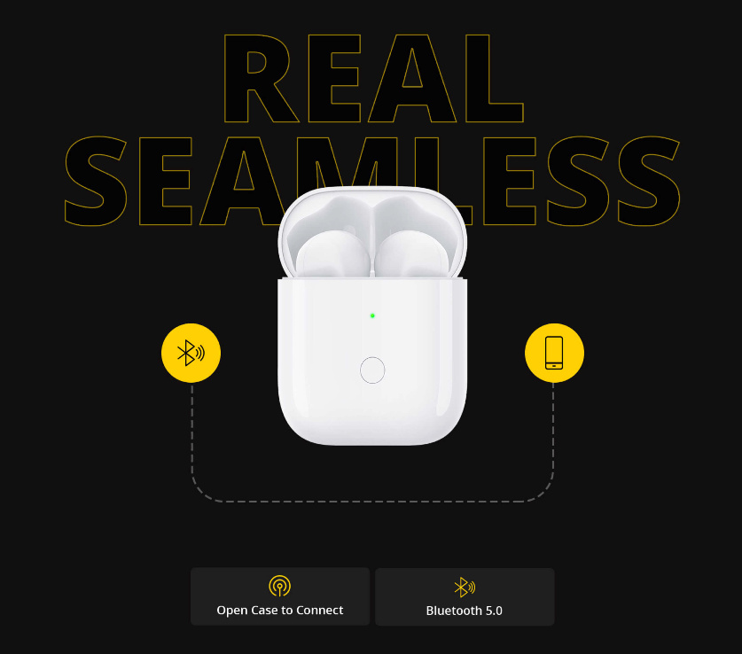 Realme Buds Air Wireless Earbuds Look Like Apple Airpods And Have