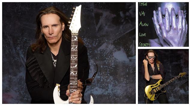 Practica sin Guitarra como... Steve Vai.