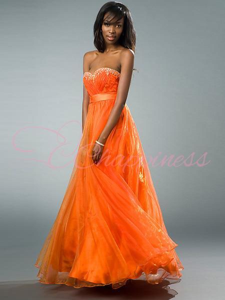 Orange Prom Dresses Orange Dresses For Prom Simply