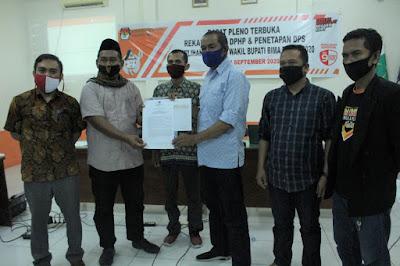Digelar Pleno Terbuka Rekapitulasi DPHP dan Penetapan DPS tingkat Kabupaten Bima