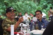 Bertemu Stakeholder, Menparekraf Sandiaga dan Gubernur Olly Bahas Pengembangan KEK Likupang