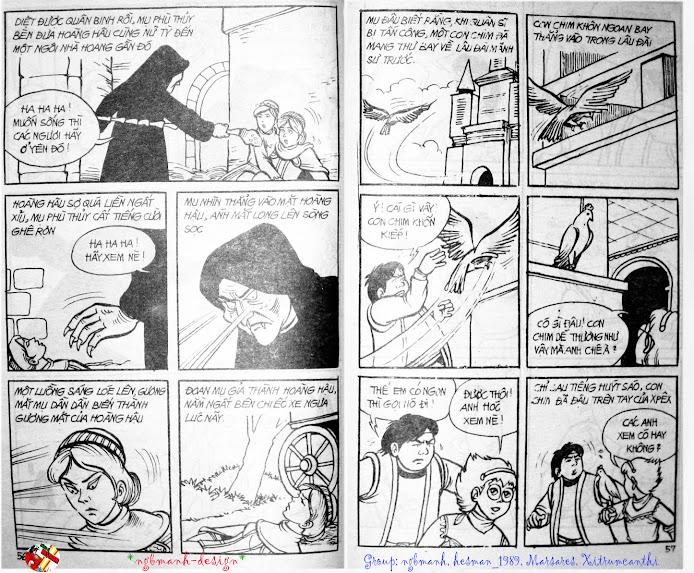 Dũng Sĩ Hesman tập 3 - mãng xà giả dạng trang 30