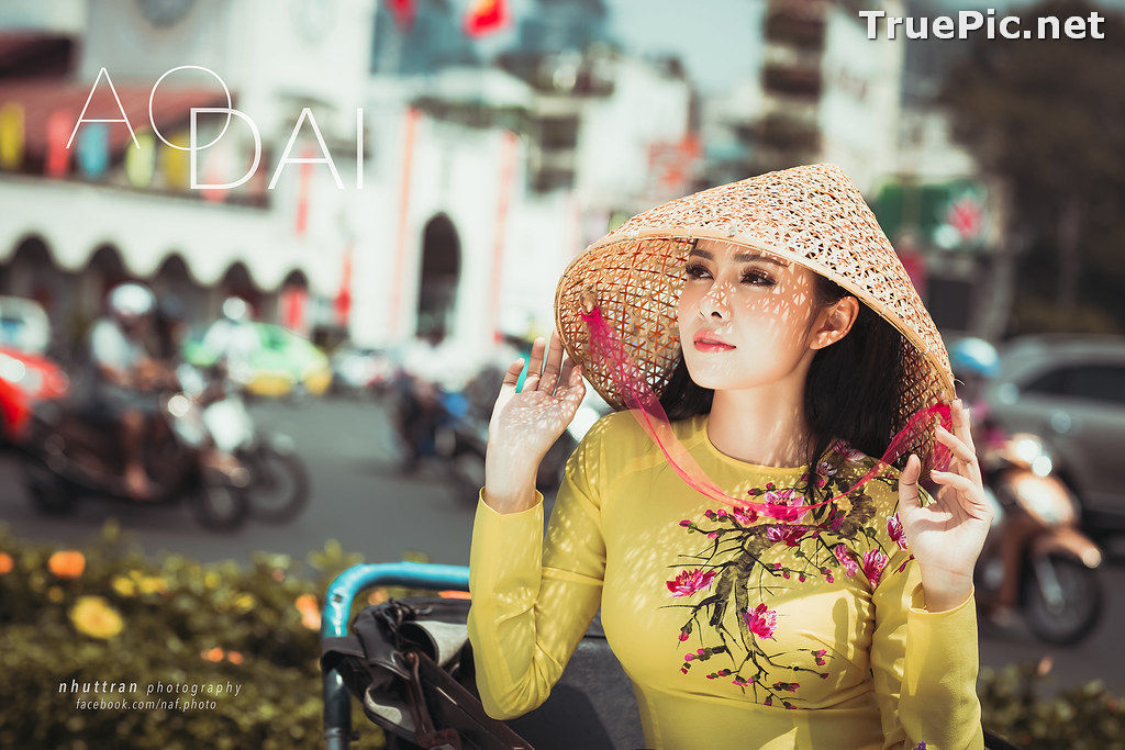 Image The Beauty of Vietnamese Girls with Traditional Dress (Ao Dai) #5 - TruePic.net - Picture-5
