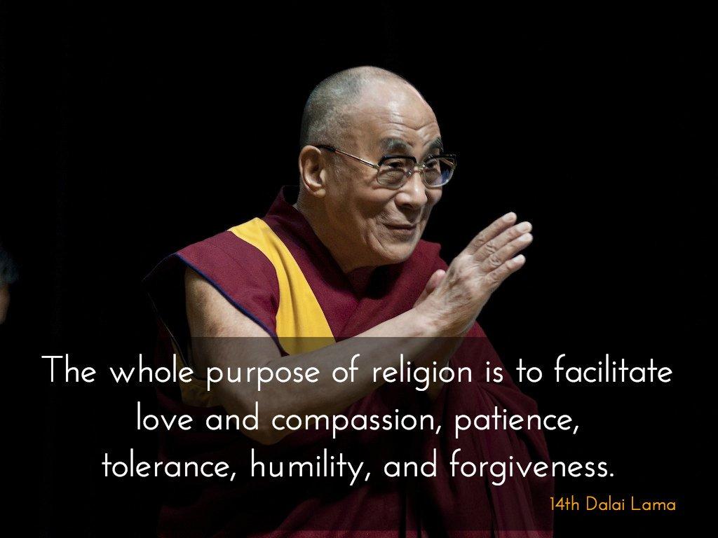 The whole purpose of religion wallpaper