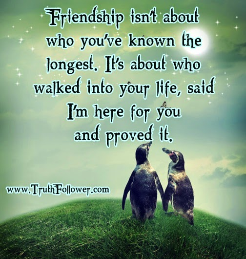 Friendship Isnt About Who Youve Known The Longest