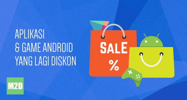 Aplikasi game diskon Play Store