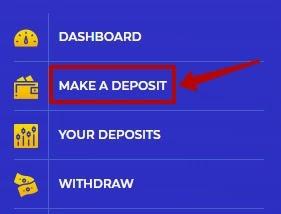 Создание депозита в Alibit 2